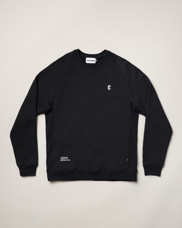 Icon Crewneck Sweatshirt - Black