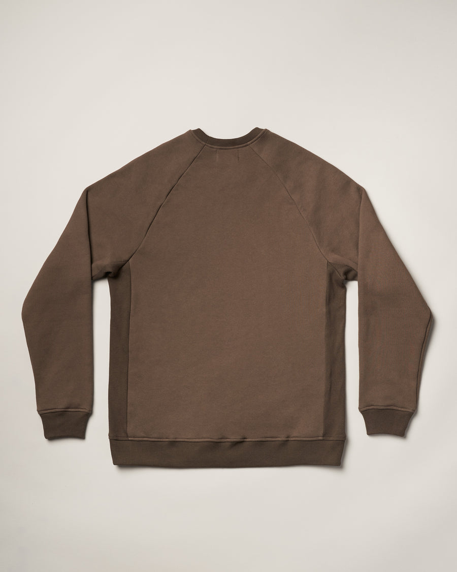Icon Crewneck Sweatshirt - Olive