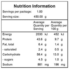 Chicken-Prawn-Paella-Nutritional-Information
