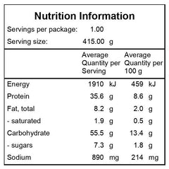 Salsa-Chicken-Nutritional-Information