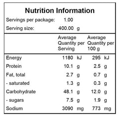Vegetarian-Paella-Nutritional-Information