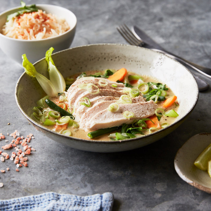Thai Green Curry - Macrobite