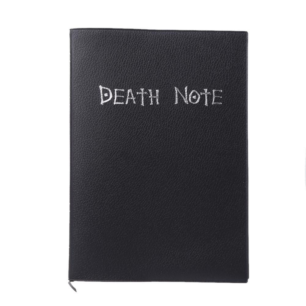 New Death Note Cosplay Notebook & Feather Pen Book Animation Art Writing Journal