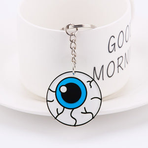 Hot New Organ Heart Keychain Brain Eyes Tooth Key Chain Women and Men Cute Anime Cartoon Kids Key Ring Gift Porte Clef