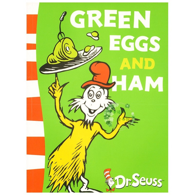 GREEN EGGS AND HAM Dr.Seuss Children English Reading Picture Story Books for Kids Learning Educational Toys