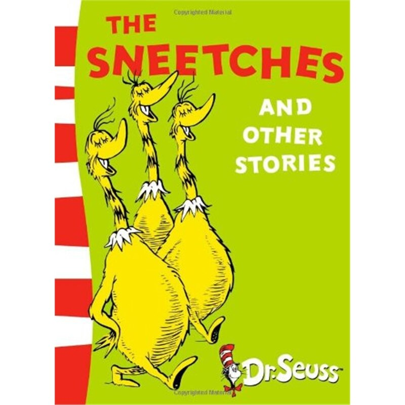THE SNEETCHES AND OTHER STORIES By Dr Seuss Children Books Baby Learning In English Language Book for Kids gifs
