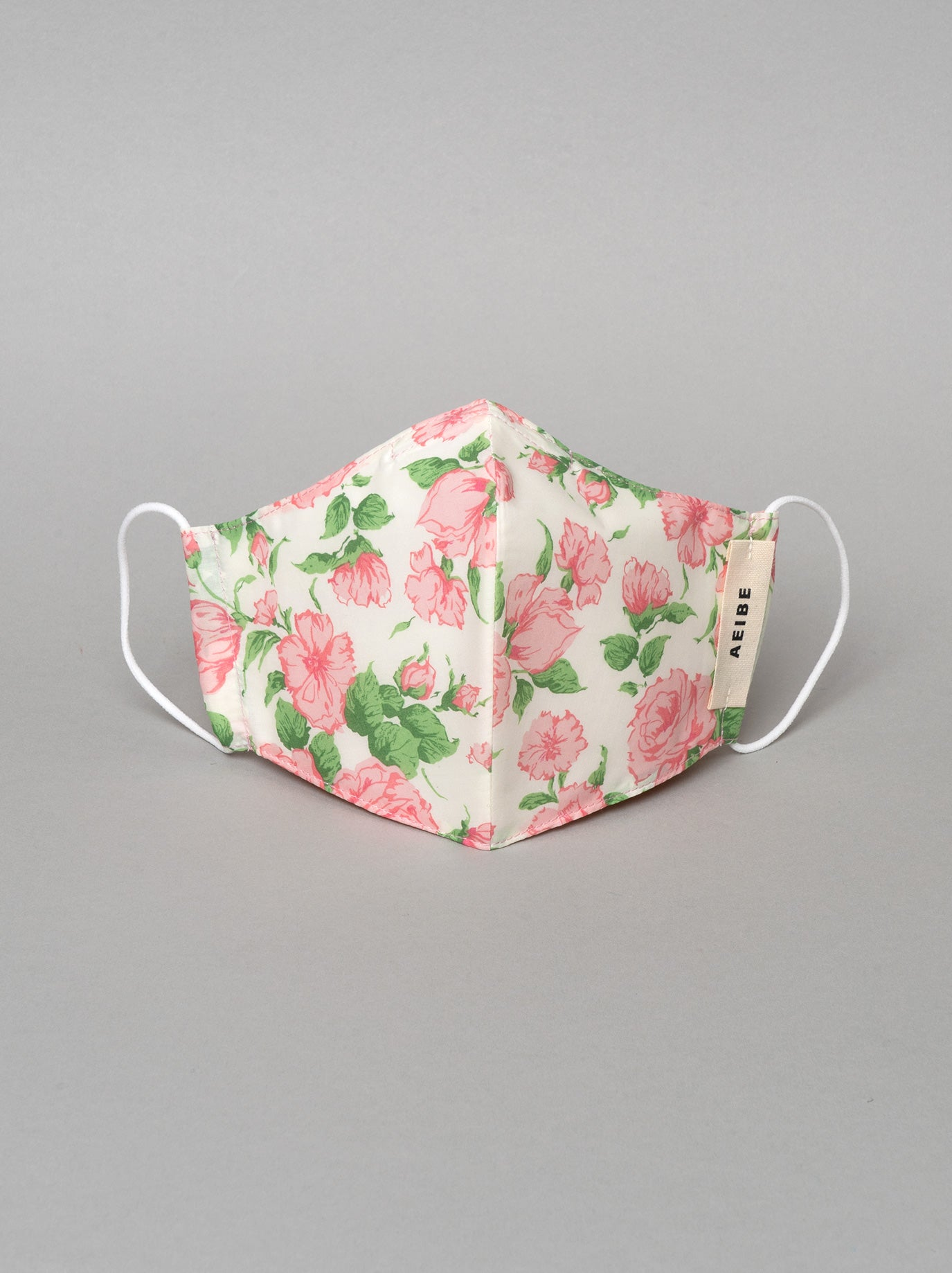 3Ply filtered face mask, English Rose Garden - AEIBE
