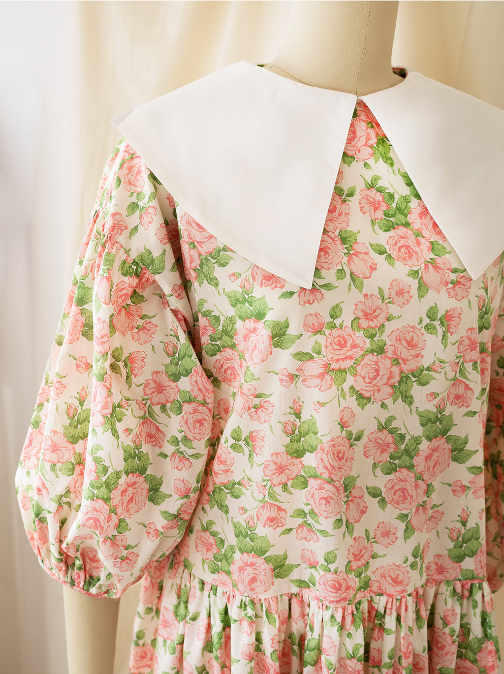Daphne Dress, English Rose - AEIBE