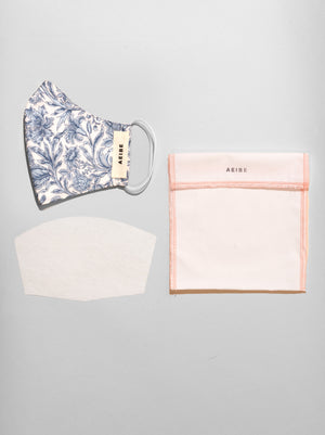 3Ply Filtered Face Mask, Hampshire Bouquet - AEIBE