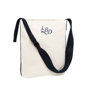Utility Shoulder Bag Navy Strap