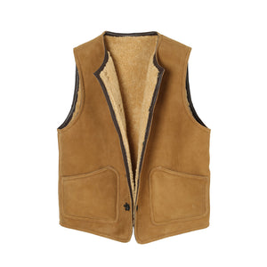 Lot.411 Sheepskin Vest (Pre Order Only)
