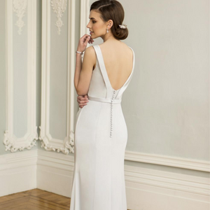 True Bride E175 Back Detail