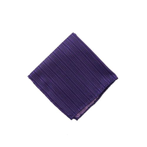 Purple solid dot pocket square - 1191340 Swatch