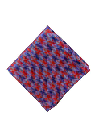 Red neat pocket square - 4617