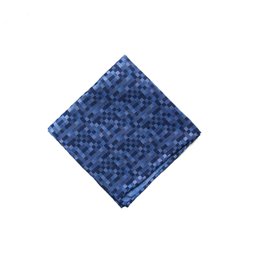 Lt blue tonal square pocket square - 4249 Swatch