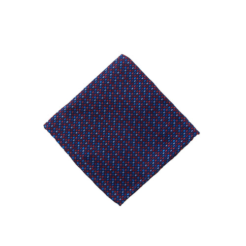 Red neat pocket square - 4554 Swatch