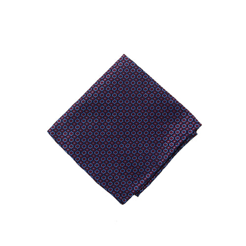 Burgundy neat pocket square - 4476 Swatch