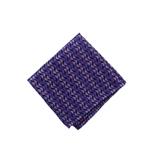 Pink zig pocket square - 4556 Swatch