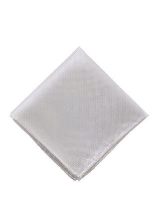 White diamond pocket square - 3818