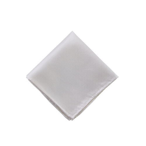 White diamond pocket square - 3818 Swatch