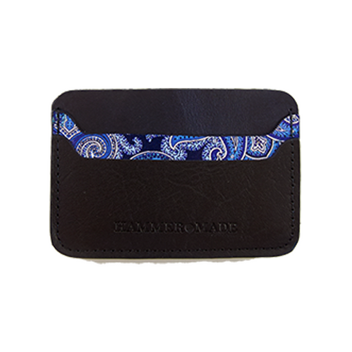 Blue/paisley wallet Swatch