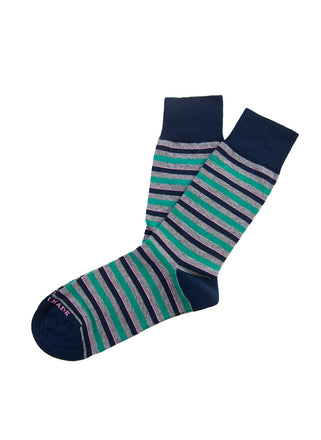 Pink pop stripe sock