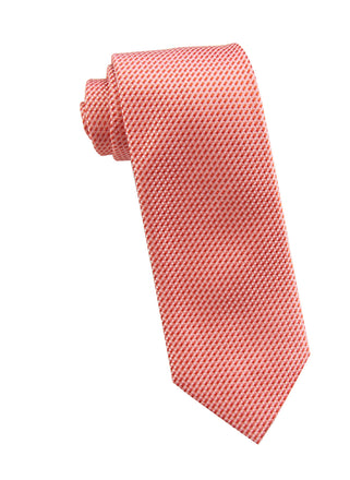 Red neat tie - 4707