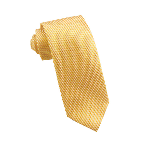 Yellow neat tie - 4707 Swatch