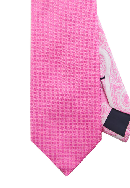 Pink neat tie - 4708