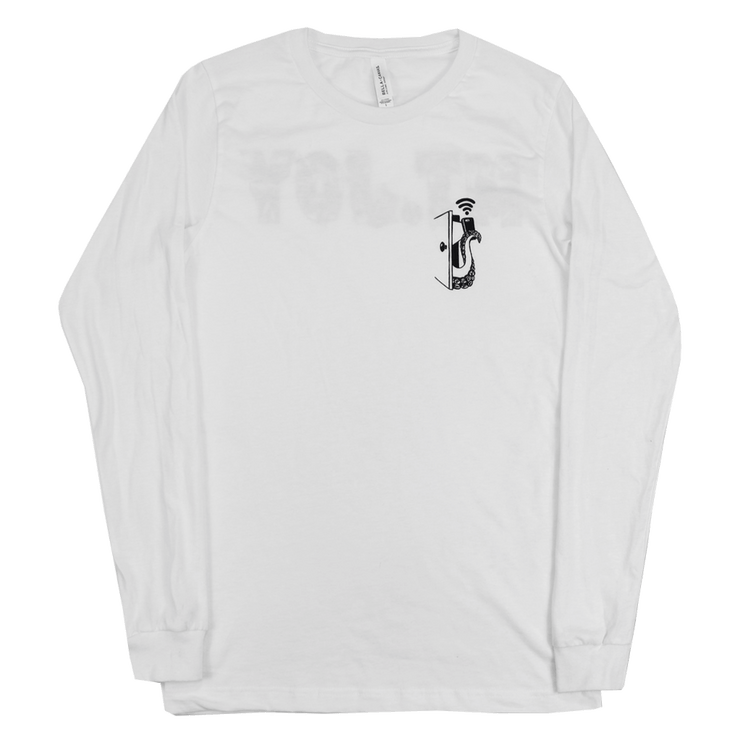 I'm Your Wreck Longsleeve (White)