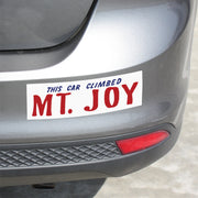Mt. Joy Bumper Sticker