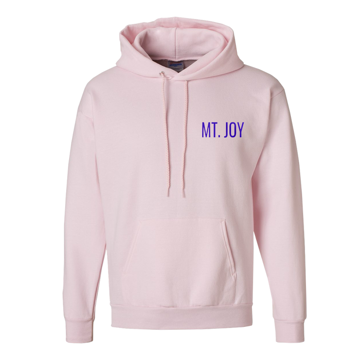 Contour Pullover Hoodie (Pink)