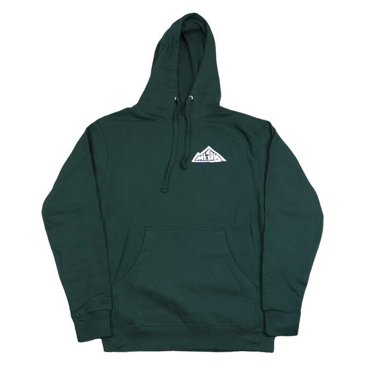 Mountain Pullover Hoodie (Forest Green)