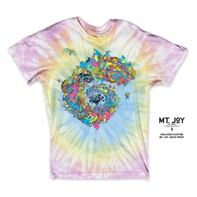 Limited Edition Steve Girard Monster Tie Dye T-Shirt
