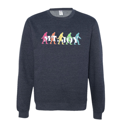Bigfoot Crewneck Sweatshirt (Heather Navy)