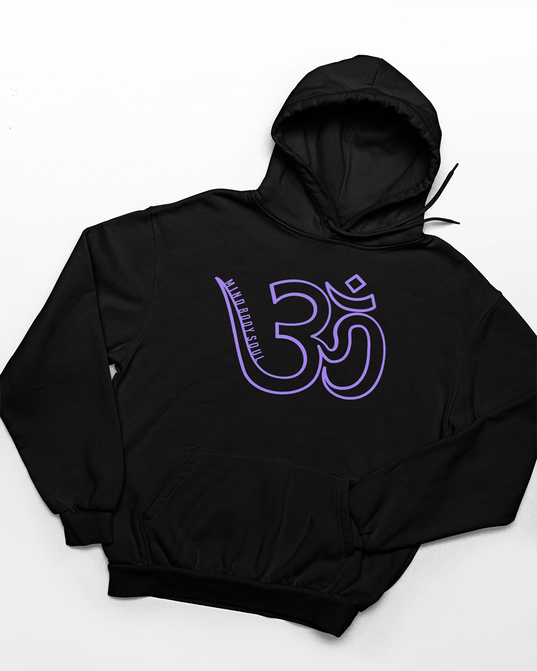 OM - Mind Body Soul Hoodie - Our Chakras