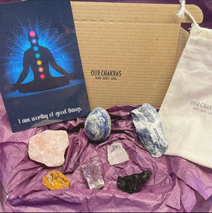 7PC Crystal Stone Mystery Box - Our Chakras