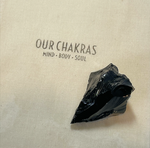 Black Tourmaline Rough Crystal - Our Chakras