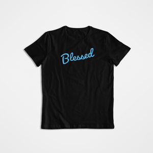 """Blessed"" T-Shirt - Our Chakras"