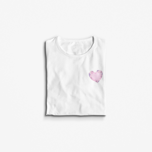 Crystal Love Heart T-Shirt - Our Chakras