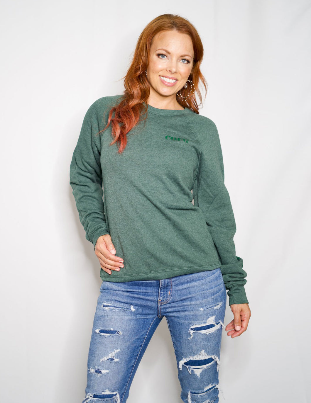 Strength from Within Pullover