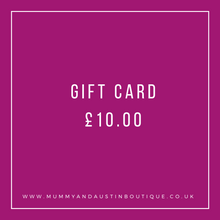 Load image into Gallery viewer, Gift Card - mummyandaustinboutique