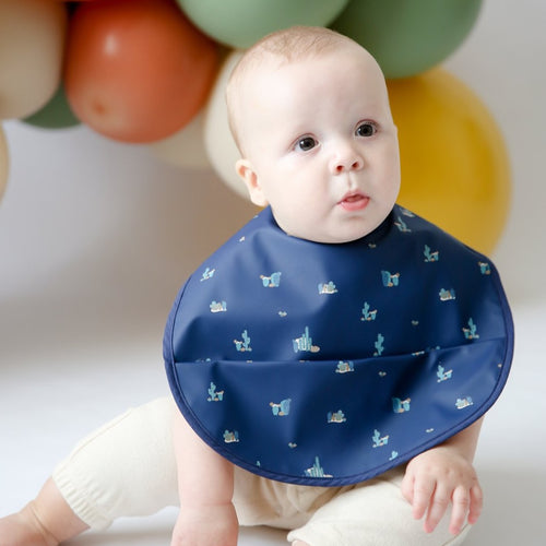 Arizona Boys | Waterproof | Snuggle Hunny Bib - mummyandaustinboutique