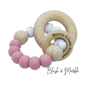 Simplicity Collection: Various Colours | Teething Ring - mummyandaustinboutique
