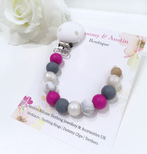 Load image into Gallery viewer, Fuschia Collection | Dummy Clip - mummyandaustinboutique
