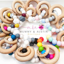 Load image into Gallery viewer, Pebbles Collection | Teething Ring - mummyandaustinboutique
