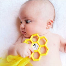 Load image into Gallery viewer, Honeycomb Teether - mummyandaustinboutique