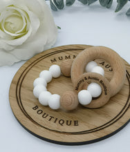 Load image into Gallery viewer, Simplicity Collection: Various Colours | Teething Ring - mummyandaustinboutique