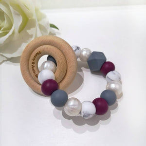 Mulberry Teething Ring - mummyandaustinboutique