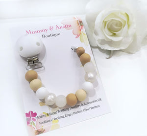 Neutral Collection | Dummy Clip - mummyandaustinboutique